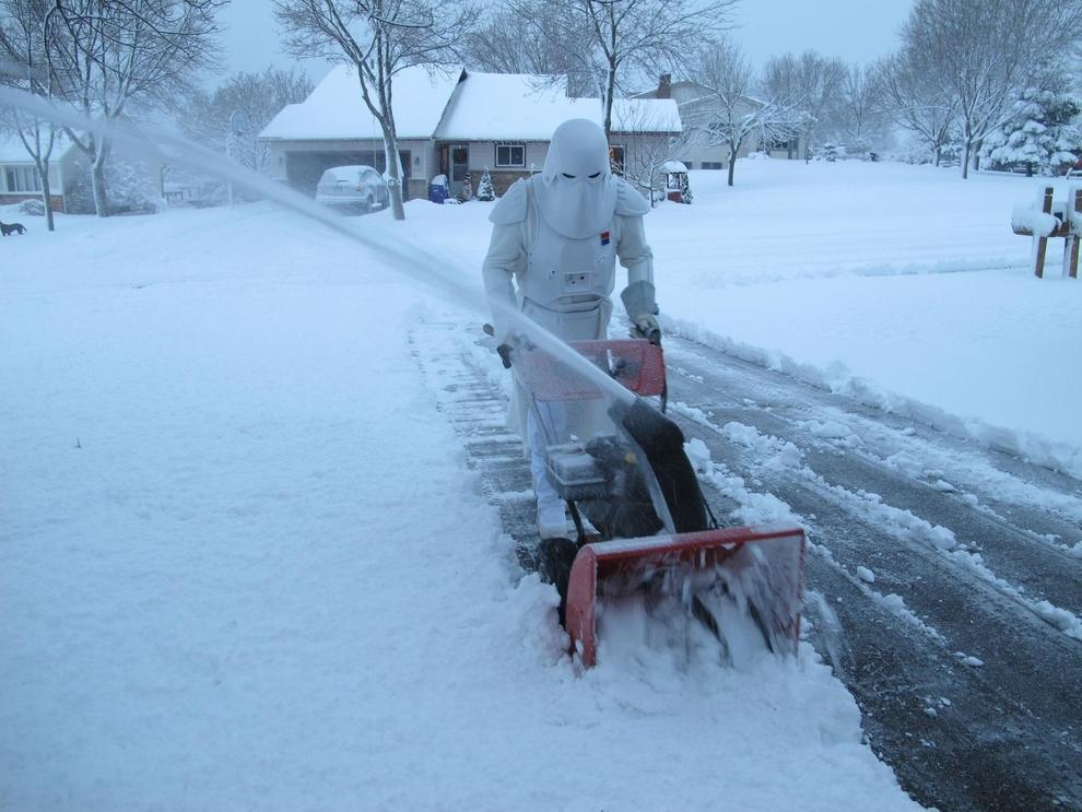Stormtrooper Snow Blower