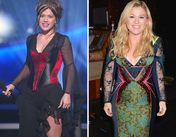 Kelly Clarkson Then And Now Kelly Clarkson    Then And Now