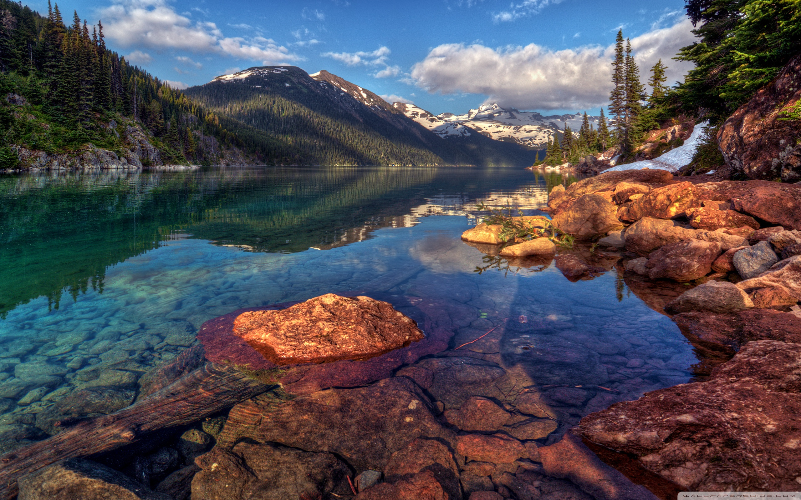 Clear Water Of Smith Mountain Lake, Virginia  Wallpaper