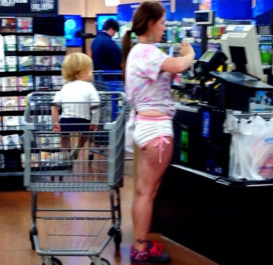 diaper shorts fashion fail at walmart   funny pictures at