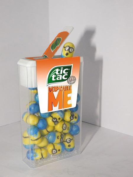 Minion Tic Tacs