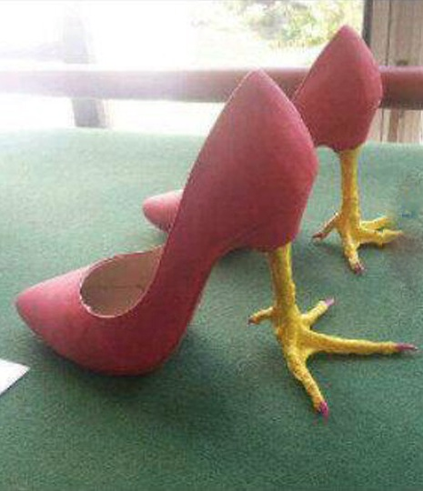 High Heel Chicken Feet