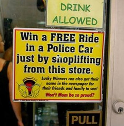 essay about shoplifting