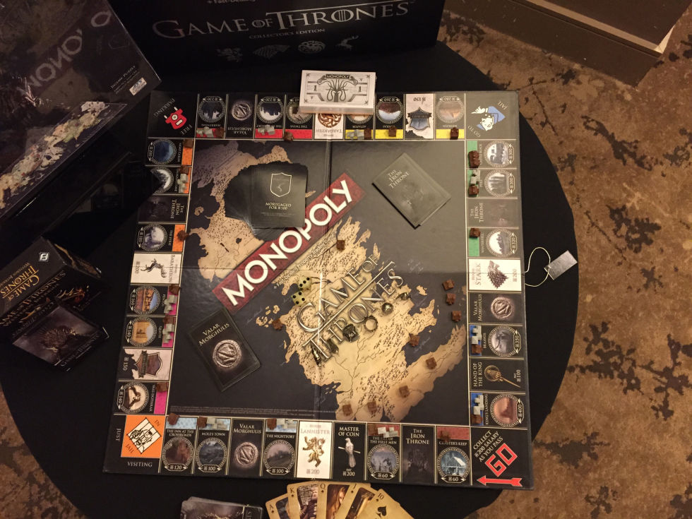 game of thrones monopoly is coming. Black Bedroom Furniture Sets. Home Design Ideas