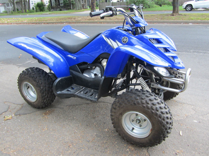 yamaha raptor 50cc atv low hours clean classified ad