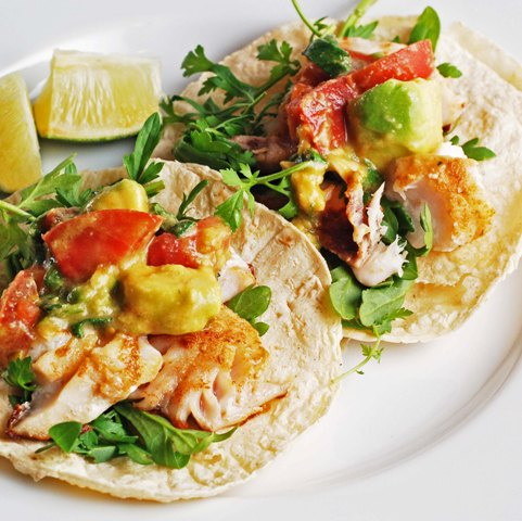 Easy fish tacos recipe for Simple fish taco recipe