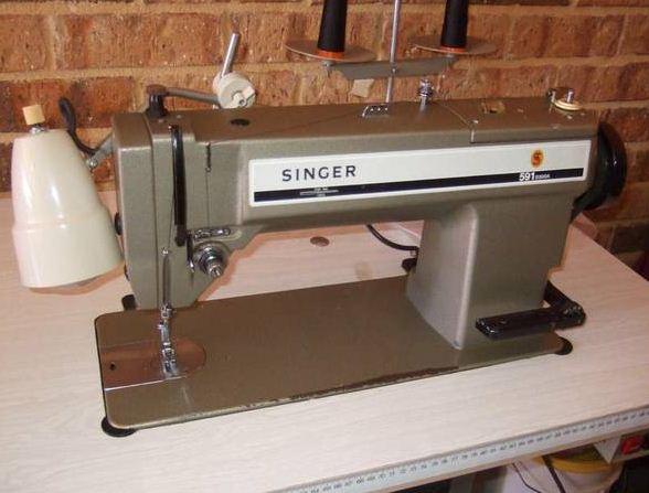 industrial sewing machine singer