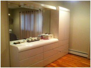 bedroom cream color furniture bed dresser mirror classified ad