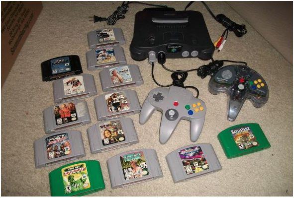 N64 Super Nintendo Games