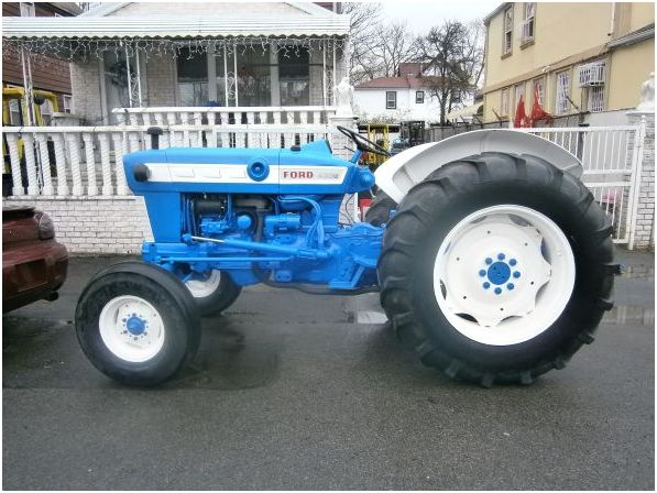 Ford 4000 Backhoe Parts : Ford tractor classified ad
