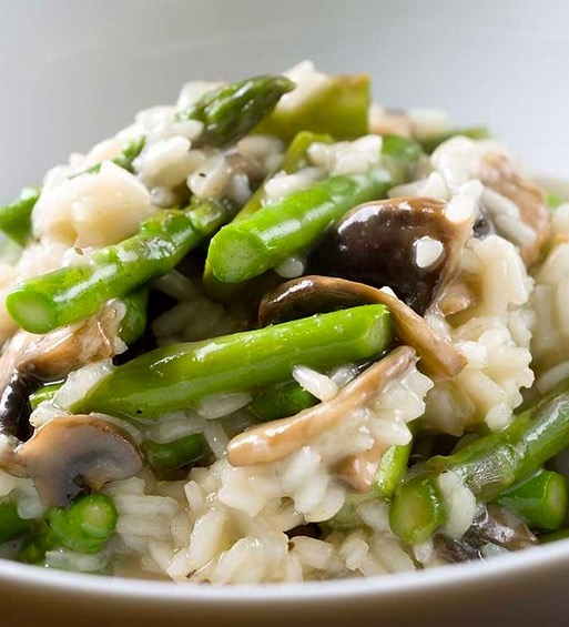 Risotto With Chicken And Asparagus Recipes — Dishmaps