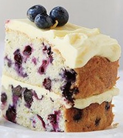 Blueberry Zucchini Cake with a Lemon Buttercream Frosting ...