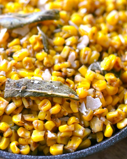 Brown Butter Skillet Corn - Recipe
