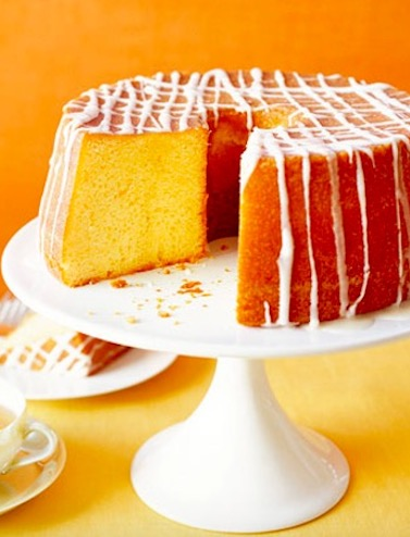 Orange Pound Cake - Recipe
