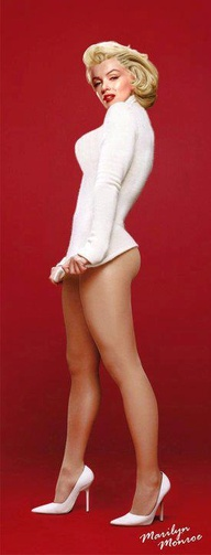 Marilyn Monroe In A Sweater Beauty Faxo