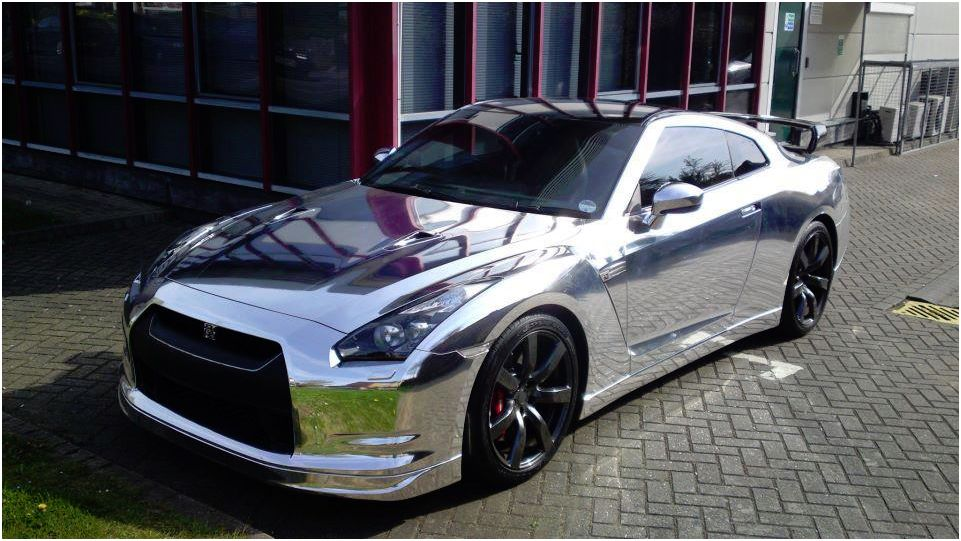 Chrome Nissan Gtr Autos Faxo