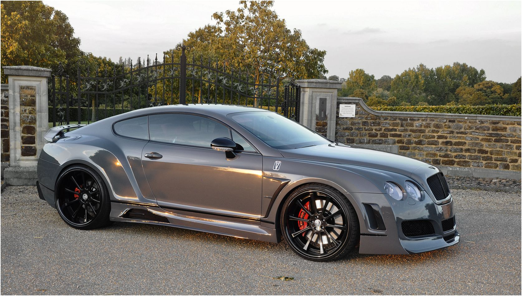 Custom Bentley Coupe Gt Quot Premier 4509 Wide Body Kit Quot Vad