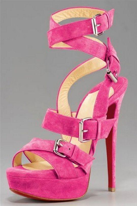 6b009b2e0275 Adult Pink High-Heel Sandals - Fashion - Faxo