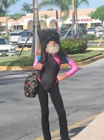 Santa Just Came To Miami Fl Walmart Shopping For Toys