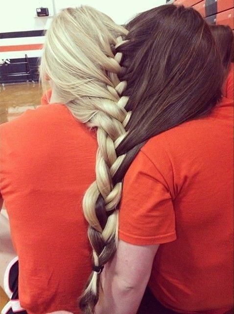 How To Prove You Re Best Friends Forever Braided Hair Together Wtf Knot Funny Faxo