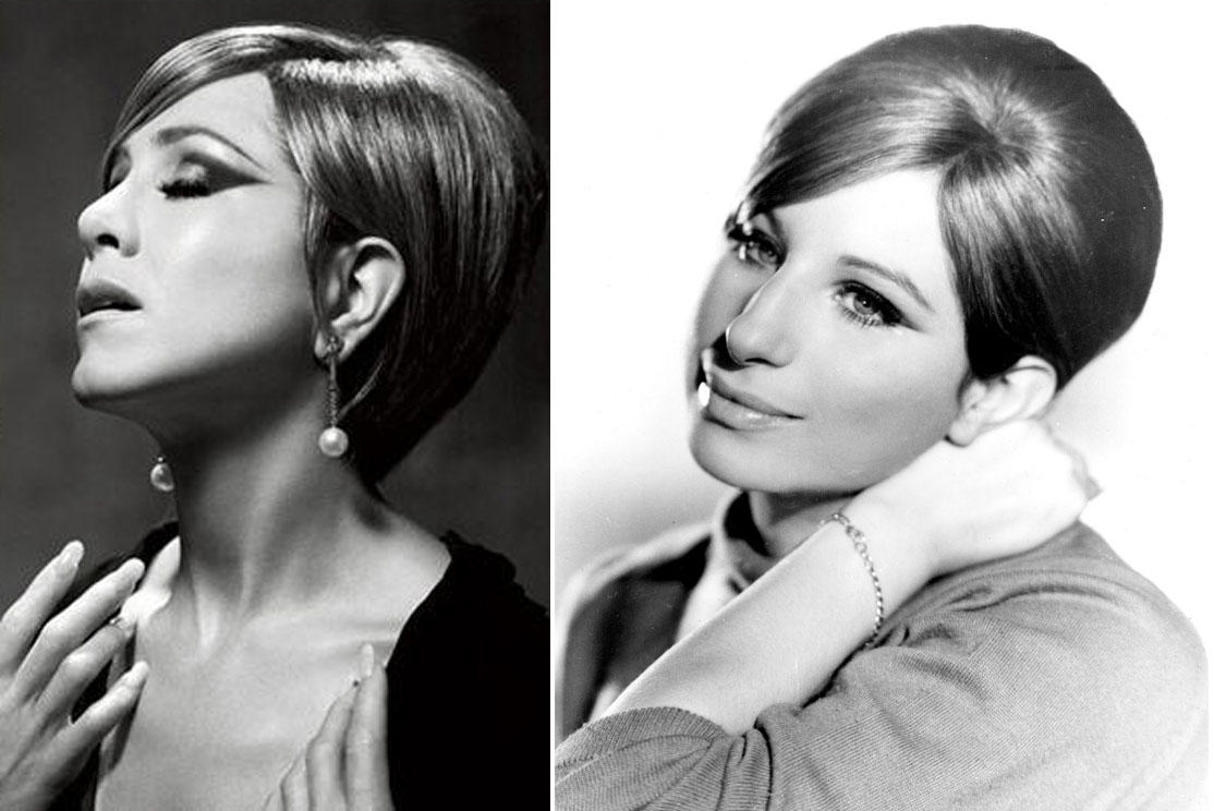 Jennifer Aniston as Barbra Streisand - Entertainment - Faxo