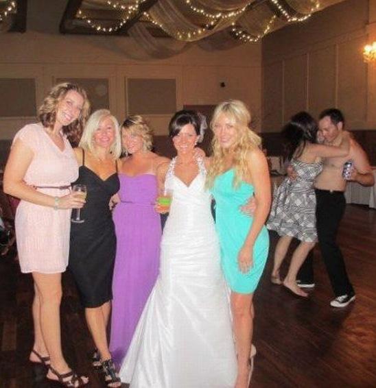Bride Has Best Wedding Party Ever