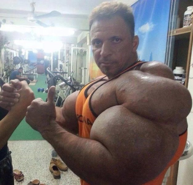 Biggest Biceps Ever - Looks Legit - Biggest Arms Ever