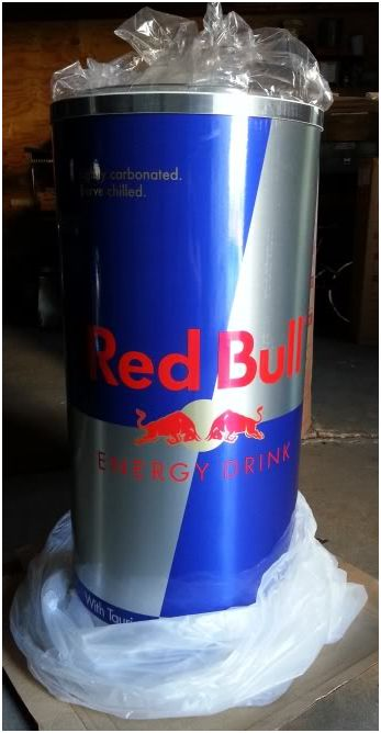 Brand New In Box Red Bull Cooler Classified Ad