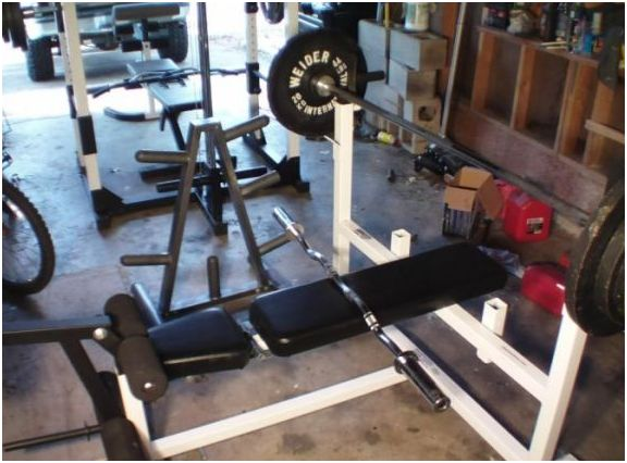 Parabody Serious Steel Workout Center Model 807 Olympic