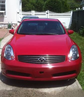 red 2003 infiniti g35 in good condition classified ad. Black Bedroom Furniture Sets. Home Design Ideas
