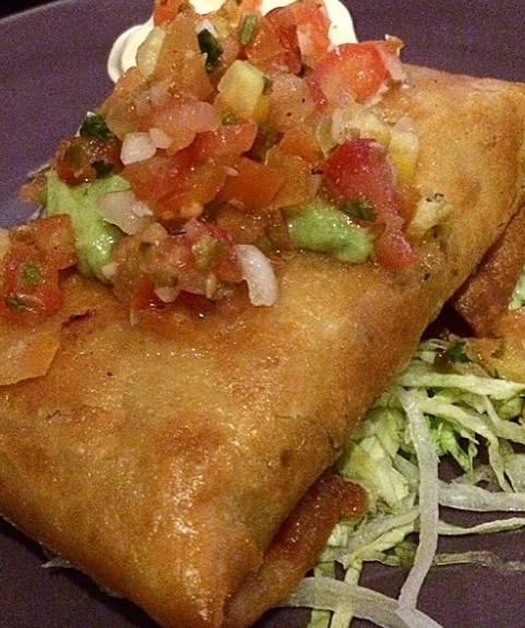 8 More Delicious And Easy Ground Beef Dinner Ideas: Ground Beef Chimichangas