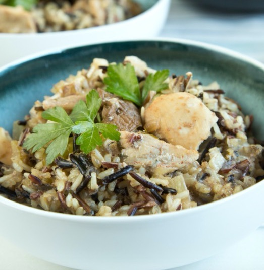Slow Cooker Chicken and Wild Rice Casserole - Recipe
